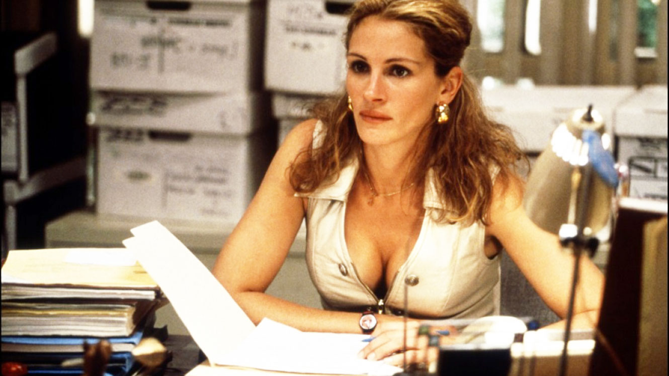 Julia Roberts in Erin Brokovich