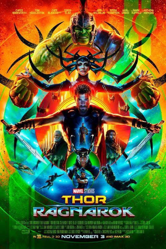 Thor Ragnarök moziajánló