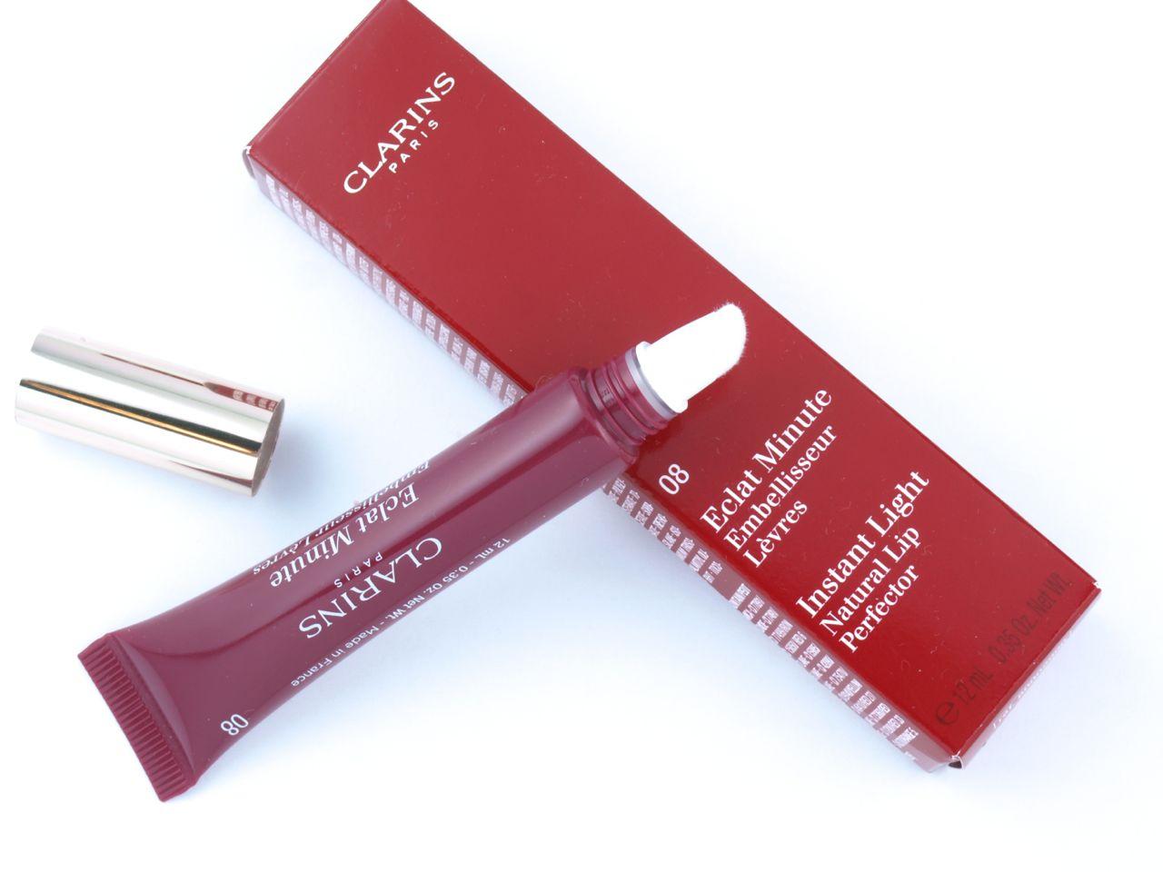 Clarins Lip Gloss Shade 08 Plum Shimmer