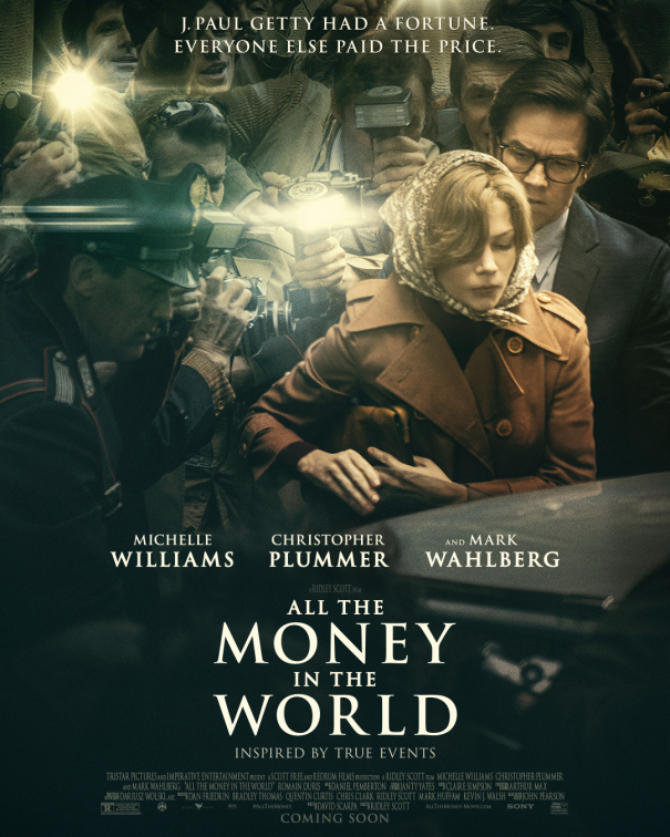 All the Money in The World - The Movie Guide Popcorn - Vibes Magazine Hungary