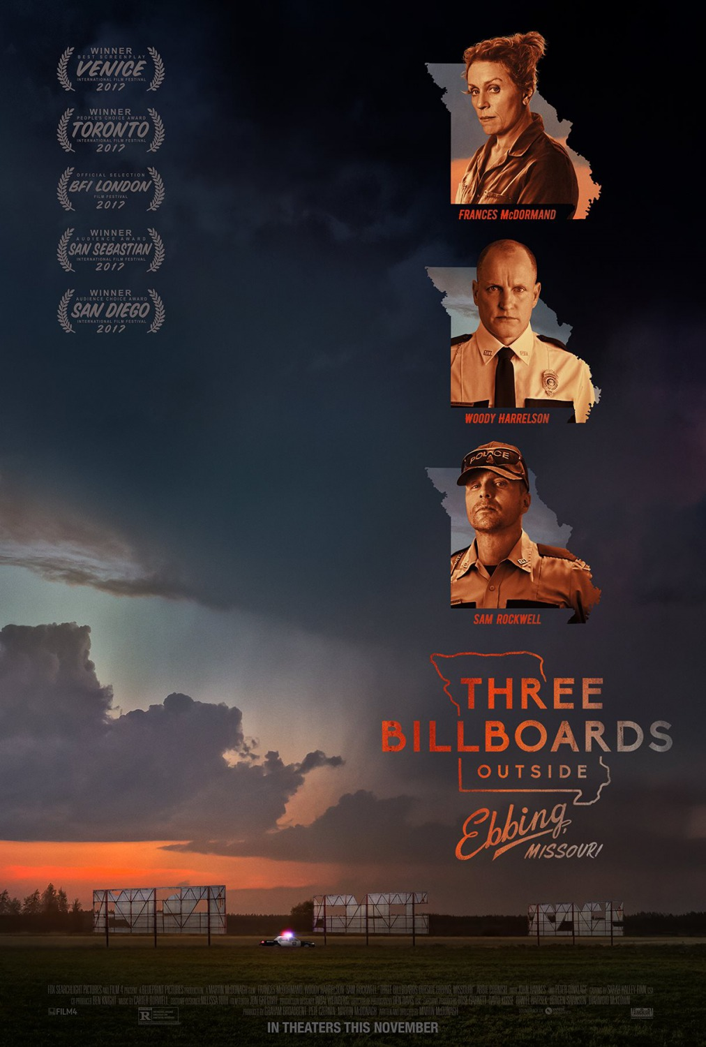 Three Billboards Outside Ebbing Missouri - Vibes Magazine Hungary - Popcorn The Movie Guide