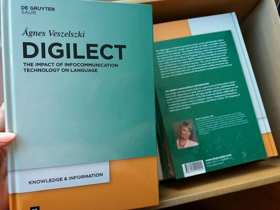Ágnes Veszelszki: Digilect
