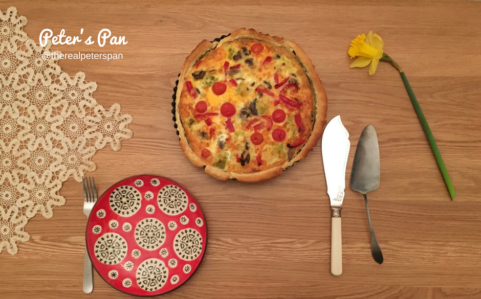 Peter's Pan: Vegetarian Quiche
