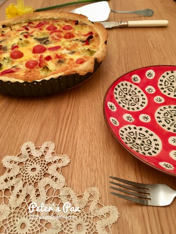 Peter's Pan: Vegetarian Quiche