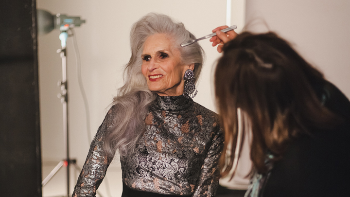 Daphne Selfe 89-year-old supermodel