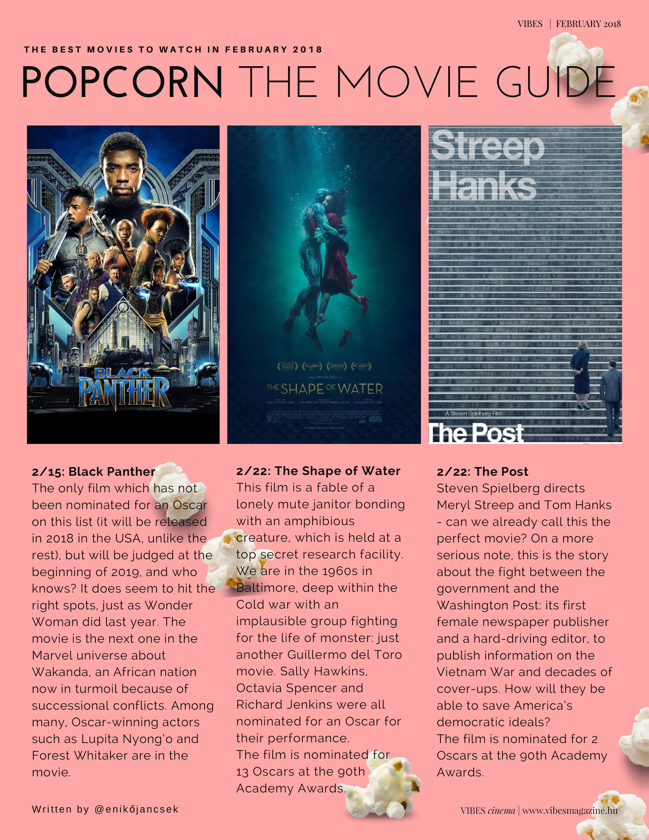 Popcorn -The Movie Guide -Vibes February 2018 (1)