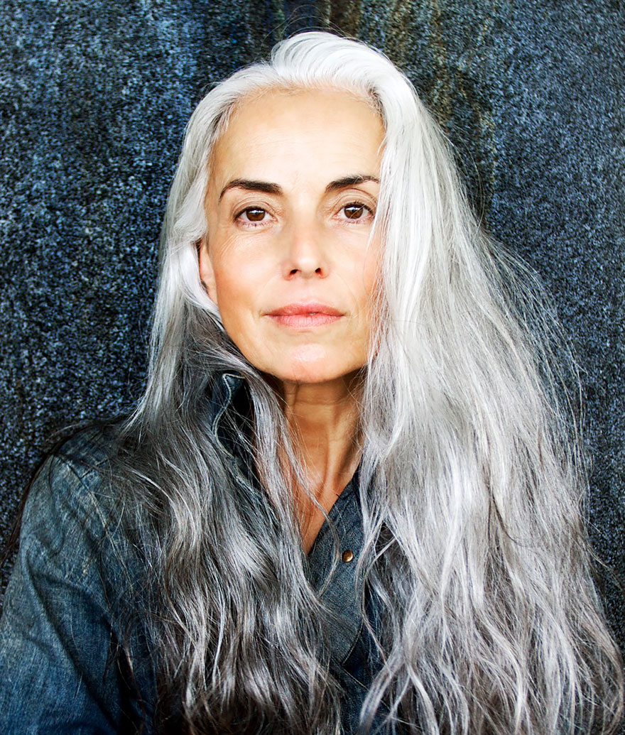 Yasmina Rossi - 62 years old Fench model