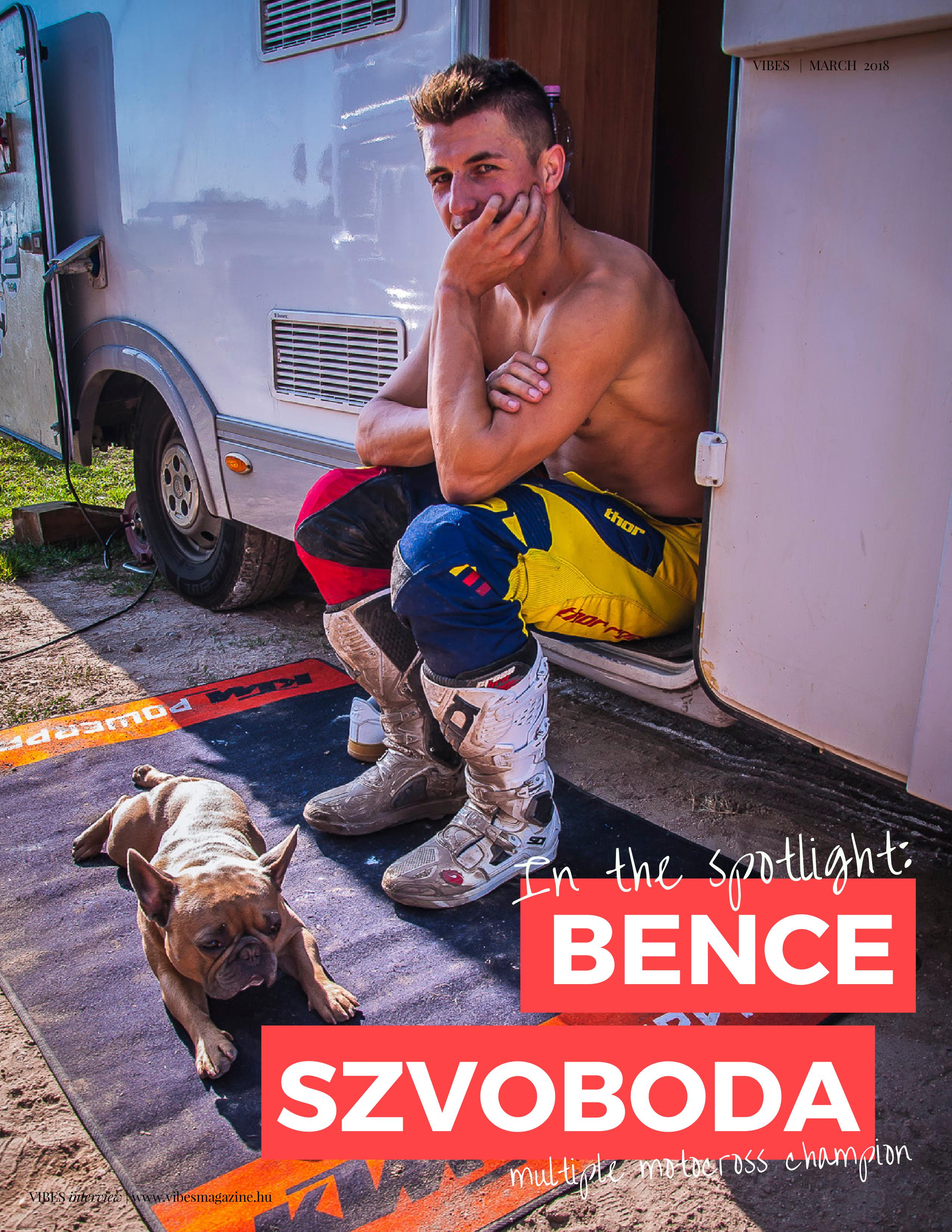 Interview with The Hungarian Bulldog; aka Bence Szvoboda multiple Motocross Champion
