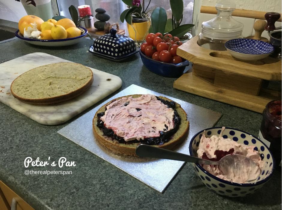 Peters Pan: Midsummer Celebration Cake