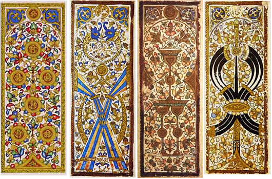 Mamluk playing cards