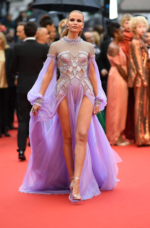Natasha Poly in Atelier Versace