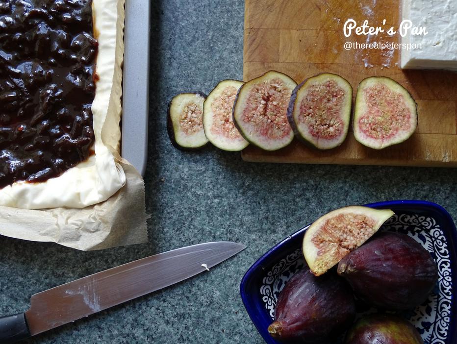 Onion chutney tart with feta Peter's Pan